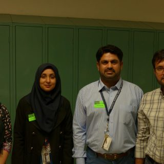 Pakistani teachers thrilled to visit Amherst