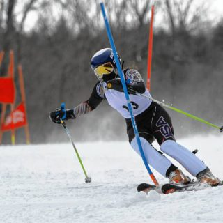 Skiing: downhill and cross country