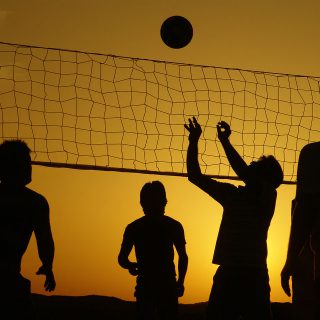 Boys' volleyball dreams