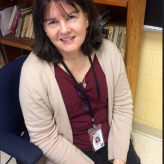 "Interim English teacher Elizabeth Bull enjoyed teachers who ""were there for you"""