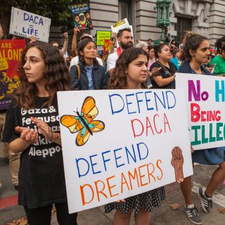 A Deferred Action for Childhood Arrivals (DACA) recipient speaks out, expressing love of country, fear, and also regret