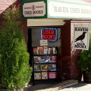 Raven Used Books: not just a used book store, a 'literary establishment'