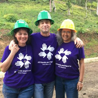 All Hands and Hearts: Ms. Vicente, Mr. Shaw provide hurricane relief