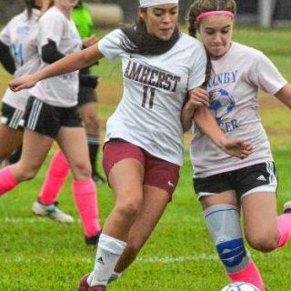 Girls' soccer team stays positive