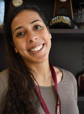 Athletic Director Victoria Stewart